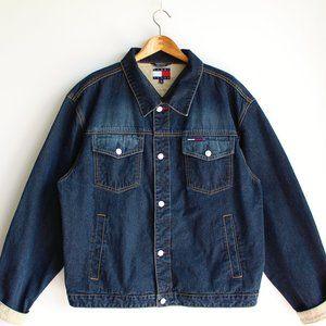 Vintage Dark Blue Tommy Jeans Denim Jacket